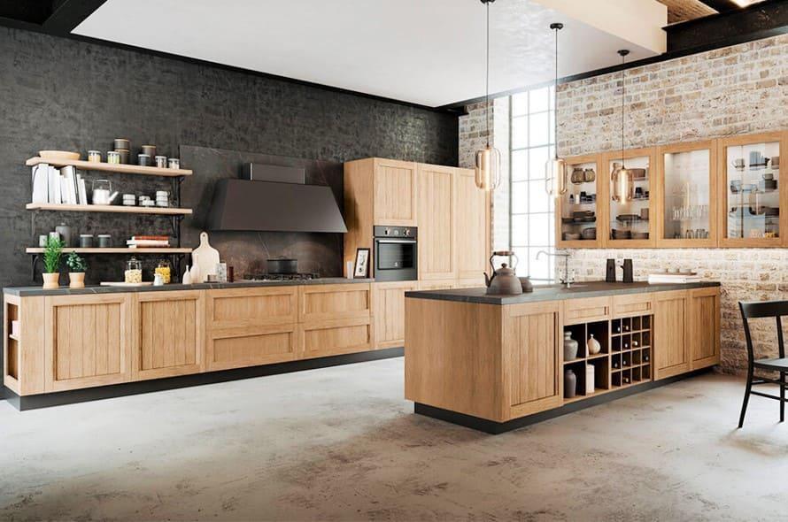 cucine in legno progettazione salento lecce
